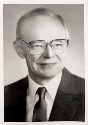 A photograph of Ronald A Nelson